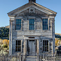 Old Bannack Schoolhouse And Masonic Temple 2 by Teresa Wilson
