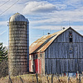 Old Barn And Silo  by Tatiana Travelways