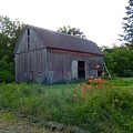 Old Barn At Dusk by Susan Wyman