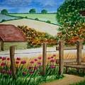 Old Barn by B Kathleen Fannin