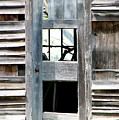 Old Barn Closeup by Rose Santuci-Sofranko