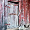 Old Barn Door by Carlton Cates
