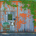 Old Barn Doors  by L Wright