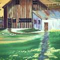 Old Barn by Eileen Blair