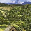 Old Barn, Grand Tetons by Daryl L Hunter