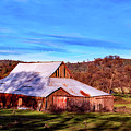 Old Barn In California by Mountain Dreams