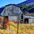 Old Barn In West Virginia Mountains 4836 Fusedt by Doug Berry