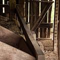 Old Barn Interior by Bob Phillips