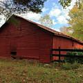 Old Barn by Iris Posner