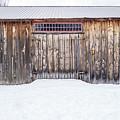 Old Barn Musterfield Farm by Edward Fielding