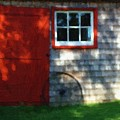 Old Barn New Paint by RC DeWinter