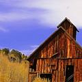 Old Barn by Patrick  Short