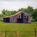 Old Barn  Poetry Tx by Darren Yarborough