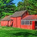 Old Barn Ridge Li.ny by Terry McCarrick