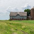 Old Barn Country Scene 4 A by John Brueske