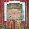 Old Barn Window by Antony McAulay