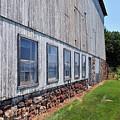 Old Barn Windows by Terri Winkler