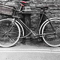 Old Bicycle by Helen Northcott