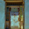 Old Blue Door  by Richard Jenkins