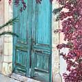 Old Blue Doors by Judy Jones