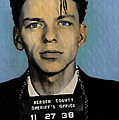 Old Blue Eyes - Frank Sinatra by Digital Reproductions