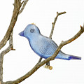 Old Bluebird Ornament by Art Block Collections