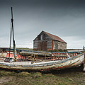 Old Boat by James Billings