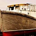 Old Boat by Lori Mahaffey
