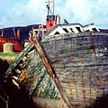 Old Boat by PJ  Cloud