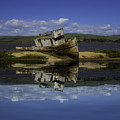 Old Boat Reflection by Garry Gay