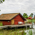 Old Boathouse by Torbjorn Swenelius