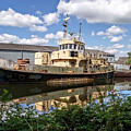 Old Boats Along The Exeter Canal 2 by Susie Peek