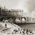 Old Boats Bridge, Limerick, Ireland by Vintage Design Pics