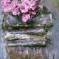 Old Books And Pink Roses by Tanya Gordeeva