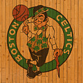 Old Boston Celtics Basketball Gym Floor by Design Turnpike