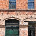Old Brick Building by Todd Blanchard