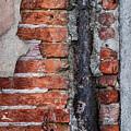 Old Brick Wall Fragment by Elena Elisseeva