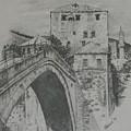 Old Bridge -mostar by Meliha Bisic