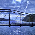 Old Bridge Over The Savannah River 001 by George Bostian