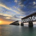 Old Bridge Sunset by Eyzen M Kim