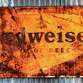 Old Budweiser Sign by M G Whittingham
