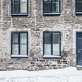 Old Building In Quebec City by Edward Fielding