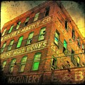 Old Empty Building In Retro Colors by Gothicrow Images