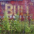 Old Bull Durham Sign - Delta by Rebecca Korpita