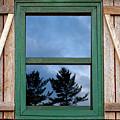 Old Cabin Window by Amanda Austwick