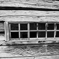 Old Cabin Window by Dart and Suze Humeston