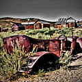 Old Car At Bodie by Chris Brannen