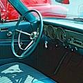 Old Car Interior by Karl Rose