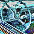Old Car Wheel by Jeelan Clark