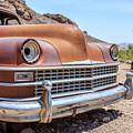 Old Cars In The Desert, Eldorado Canyon, Nevada by Edward Fielding